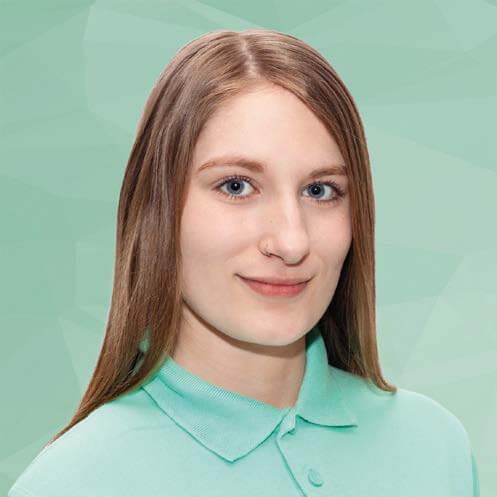 Teamleiterin Davina Greiner